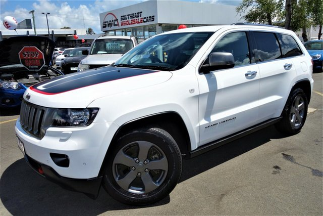 Used Jeep Grand Cherokee WK MY2013 Trailhawk, 2013 Jeep Grand Cherokee WK MY2013 Trailhawk White 5 Speed Sports Automatic Wagon