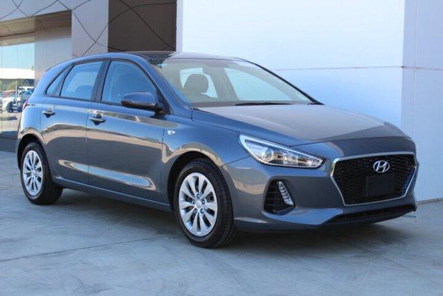 Demo Hyundai i30 PD.3 MY20 Go, 2019 Hyundai i30 PD.3 MY20 Go Iron Gray 6 Speed Sports Automatic Hatchback