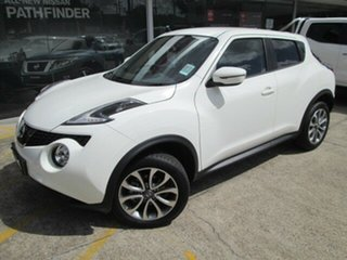 2018 Nissan Juke F15 MY18 ST 2WD Arctic White 6 Speed Manual Hatchback.