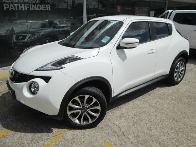 Demo Nissan Juke F15 MY18 ST 2WD, 2018 Nissan Juke F15 MY18 ST 2WD Arctic White 6 Speed Manual Hatchback