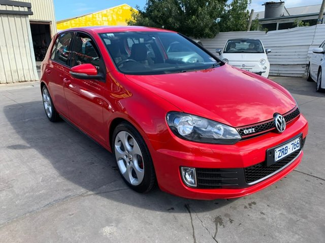 Used Volkswagen Golf VII MY14 GTI DSG, 2013 Volkswagen Golf VII MY14 GTI DSG Red 6 Speed Sports Automatic Dual Clutch Hatchback