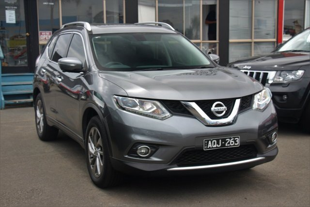 Used Nissan X-Trail T32 TL X-tronic 2WD, 2017 Nissan X-Trail T32 TL X-tronic 2WD Grey 7 Speed Constant Variable Wagon