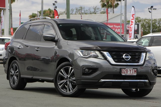 Used Nissan Pathfinder R52 Series II MY17 Ti X-tronic 4WD, 2018 Nissan Pathfinder R52 Series II MY17 Ti X-tronic 4WD Grey 1 Speed Constant Variable Wagon