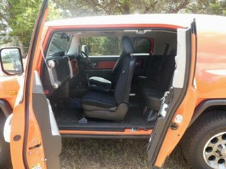 2013 Toyota FJ Cruiser GSJ15R MY14 Orange Clay 5 Speed Automatic Wagon