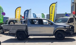 2016 Toyota Hilux GUN126R SR Double Cab 6 Speed Manual Cab Chassis