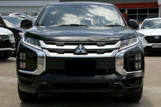 2020 Mitsubishi ASX XD MY21 ES 2WD Black 1 Speed Constant Variable Wagon