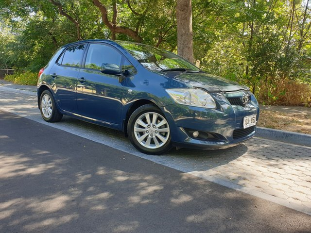 Used Toyota Corolla ZRE152R Conquest, 2007 Toyota Corolla ZRE152R Conquest Blue 4 Speed Automatic Hatchback