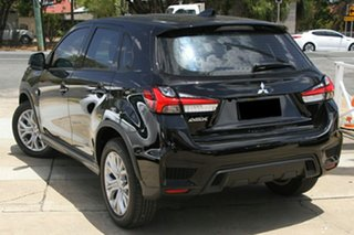 2020 Mitsubishi ASX XD MY21 ES 2WD Black 1 Speed Constant Variable Wagon.