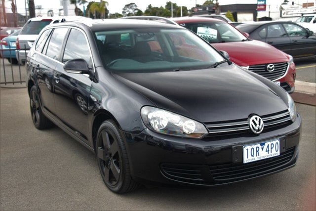 Used Volkswagen Golf VI MY11 118TSI DSG Comfortline, 2010 Volkswagen Golf VI MY11 118TSI DSG Comfortline Black 7 Speed Sports Automatic Dual Clutch Wagon