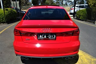 2014 Audi S3 8V MY14 S Tronic Quattro Red 6 Speed Sports Automatic Dual Clutch Sedan