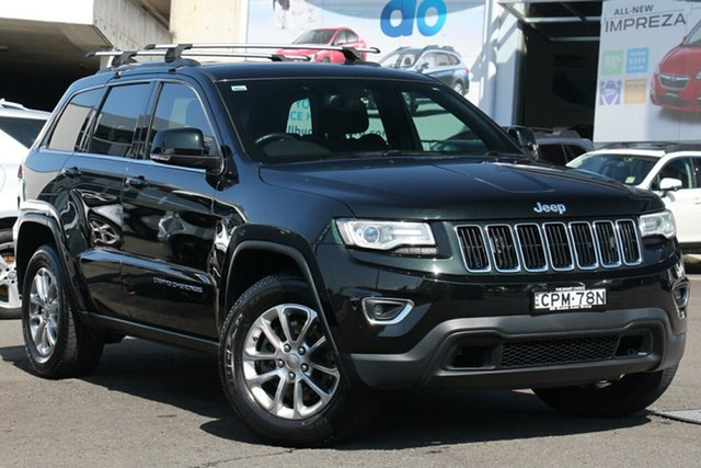 Used Jeep Grand Cherokee WK MY2013 Laredo, 2013 Jeep Grand Cherokee WK MY2013 Laredo Black 5 Speed Sports Automatic Wagon