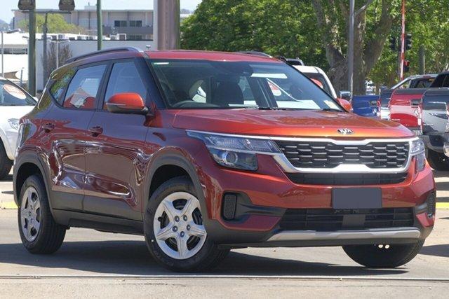 New Kia Seltos SP2 MY20 S 2WD, 2019 Kia Seltos SP2 MY20 S 2WD Mars Orange Constant Variable Wagon