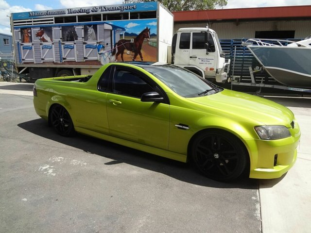 Used Holden Commodore VE SV6, 2007 Holden Commodore VE SV6 Green 6 Speed Manual Utility