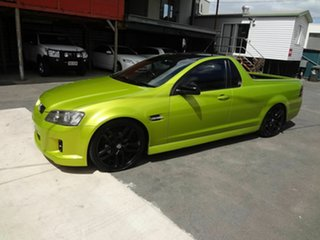 2007 Holden Commodore VE SV6 Green 6 Speed Manual Utility