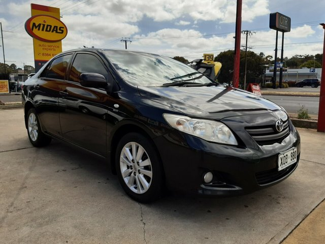 Used Toyota Corolla ZZE122R 5Y Conquest, 2007 Toyota Corolla ZZE122R 5Y Conquest Black 5 Speed Manual Sedan