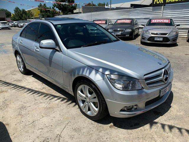 Used Mercedes-Benz C-Class W203 MY2007 C220 CDI Avantgarde, 2007 Mercedes-Benz C-Class W203 MY2007 C220 CDI Avantgarde Silver 5 Speed Automatic Sedan