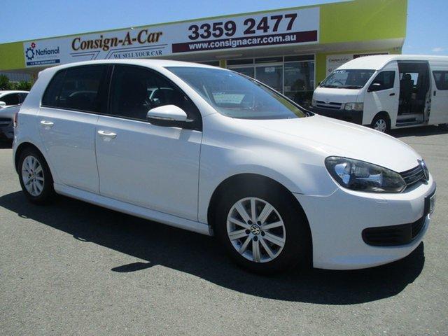 Used Volkswagen Golf VI MY12.5 BlueMOTION, 2012 Volkswagen Golf VI MY12.5 BlueMOTION White 5 Speed Manual Hatchback