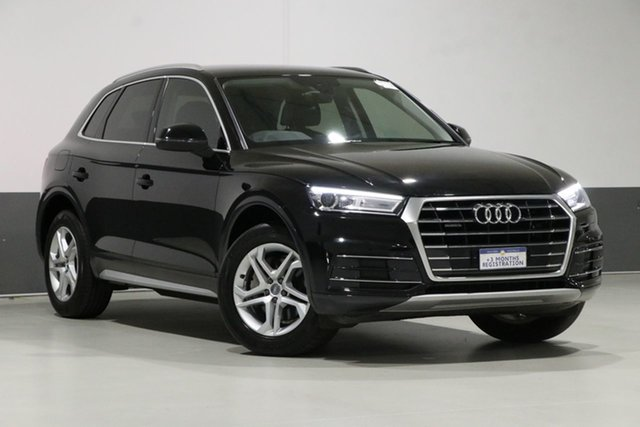 Used Audi Q5 FY MY18 2.0 TDI Quattro Design, 2018 Audi Q5 FY MY18 2.0 TDI Quattro Design Brilliant Black 7 Speed Auto S-Tronic Wagon