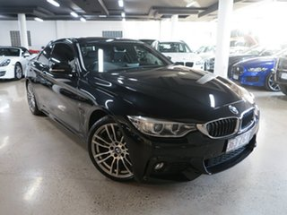 2015 BMW 4 Series F32 420i M Sport Sapphire Black 8 Speed Sports Automatic Coupe.