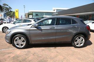 2014 Mercedes-Benz GLA X156 200 CDI Grey 7 Speed Auto Dual Clutch Wagon