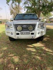 2014 Toyota Landcruiser VDJ200R MY13 VX White 6 Speed Sports Automatic Wagon