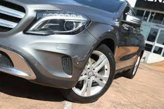 2014 Mercedes-Benz GLA X156 200 CDI Grey 7 Speed Auto Dual Clutch Wagon.