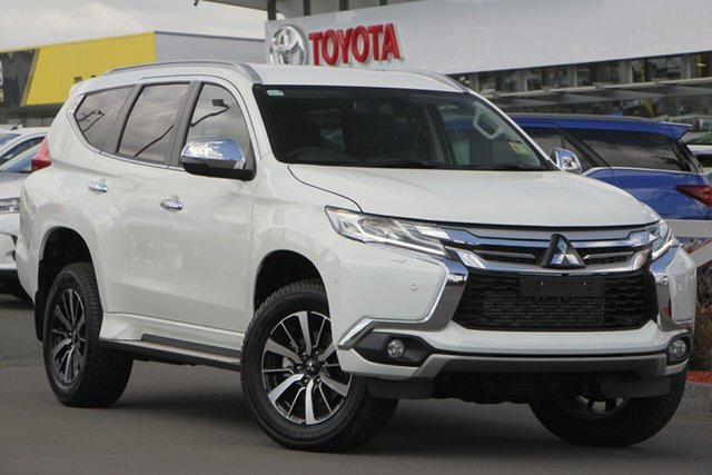 Used Mitsubishi Pajero Sport QE MY19 Exceed, 2018 Mitsubishi Pajero Sport QE MY19 Exceed White 8 Speed Sports Automatic Wagon
