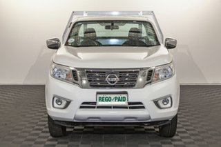 2018 Nissan Navara D23 S2 RX 4x2 White 6 speed Manual Cab Chassis.