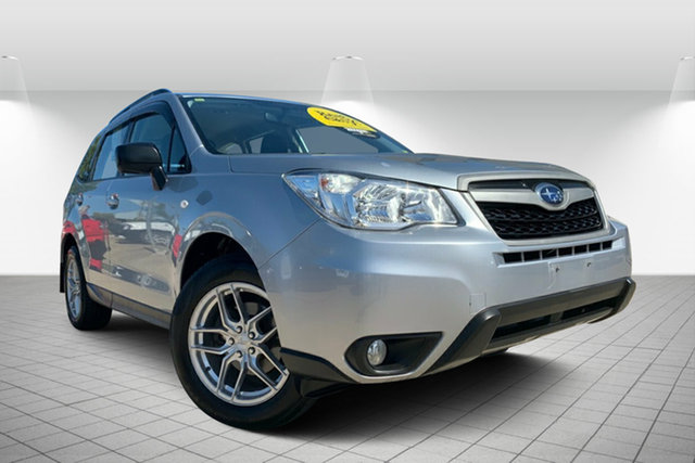 Used Subaru Forester S4 MY14 2.5i Lineartronic AWD, 2013 Subaru Forester S4 MY14 2.5i Lineartronic AWD Silver 6 Speed Constant Variable Wagon