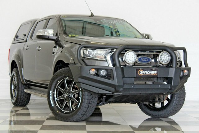 Used Ford Ranger PX MkII MY17 Update XLT 3.2 (4x4), 2017 Ford Ranger PX MkII MY17 Update XLT 3.2 (4x4) Grey 6 Speed Automatic Dual Cab Utility