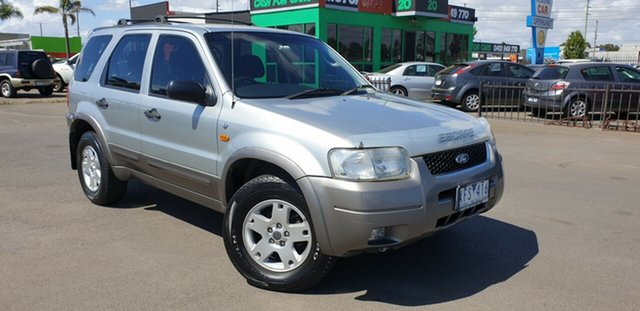 Used Ford Escape ZB XLT, 2005 Ford Escape ZB XLT Silver 4 Speed Automatic Wagon