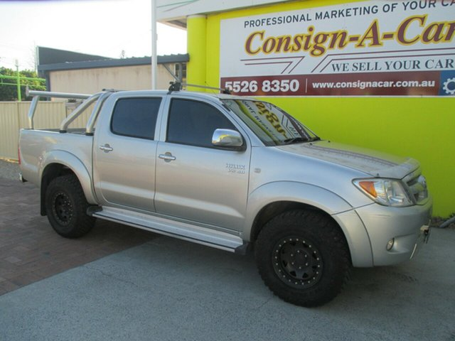 Used Toyota Hilux GGN25R MY08 SR5, 2008 Toyota Hilux GGN25R MY08 SR5 Silver 5 Speed Automatic Utility