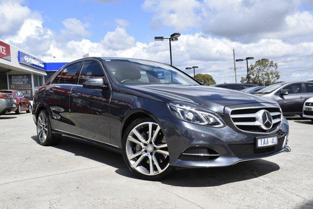 Used Mercedes-Benz E-Class W212 MY13 E400 7G-Tronic +, 2013 Mercedes-Benz E-Class W212 MY13 E400 7G-Tronic + Grey 7 Speed Sports Automatic Sedan