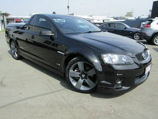 2012 Holden Commodore VE II MY12 SS Thunder Black 6 Speed Automatic Utility.