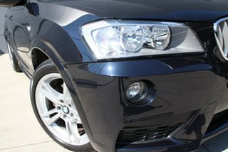 2012 BMW X3 F25 MY0412 xDrive30d Steptronic Black 8 Speed Automatic Wagon.