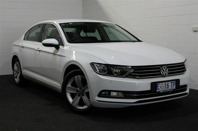 Used Volkswagen Passat Type 3C MY15 118TSI DSG, 2015 Volkswagen Passat Type 3C MY15 118TSI DSG White 7 Speed Sports Automatic Dual Clutch Sedan