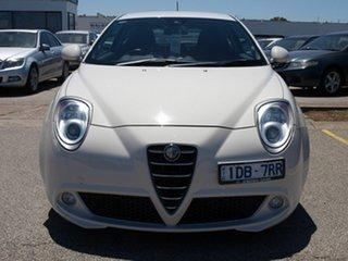 2012 Alfa Romeo Mito MY12 Distinctive TCT White 6 Speed Sports Automatic Dual Clutch Hatchback
