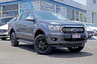 2019 Ford Ranger PX MkIII 2019.75MY XLT Pick-up Double Cab Grey 6 Speed Sports Automatic Utility.