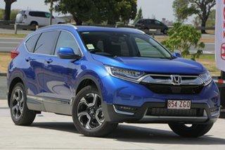 2019 Honda CR-V RW MY19 VTi-LX 4WD Blue 1 Speed Constant Variable Wagon.