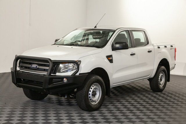 Used Ford Ranger PX XL Double Cab 4x2 Hi-Rider, 2014 Ford Ranger PX XL Double Cab 4x2 Hi-Rider Cool White 6 speed Automatic Utility