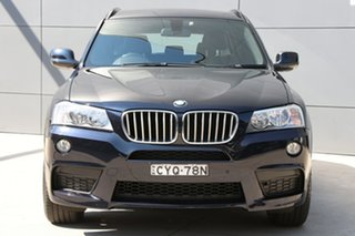 2012 BMW X3 F25 MY0412 xDrive30d Steptronic Black 8 Speed Automatic Wagon