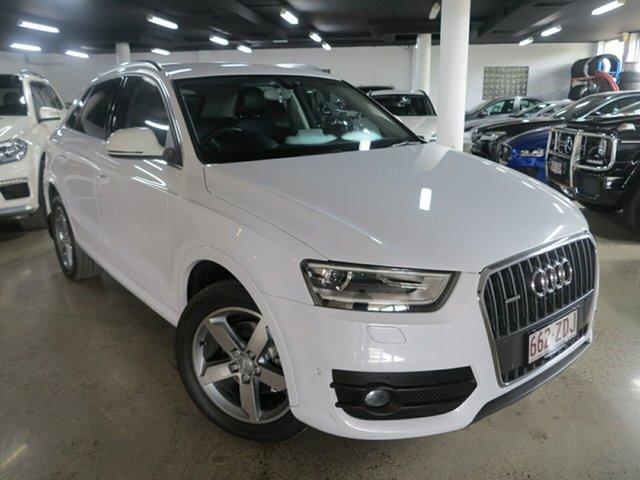 Used Audi Q3 8U MY14 TDI S Tronic Quattro, 2014 Audi Q3 8U MY14 TDI S Tronic Quattro White 7 Speed Sports Automatic Dual Clutch Wagon
