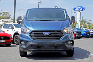 2019 Ford Transit Custom VN 2018.75MY 300S Low Roof SWB Blue 6 Speed Automatic Van.