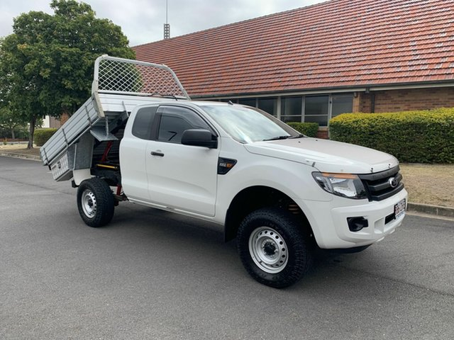 Used Ford Ranger PX XL, 2014 Ford Ranger PX XL White 6 Speed Automatic Spacecab