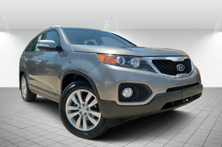 2010 Kia Sorento XM MY10 SLi Silver 6 Speed Sports Automatic Wagon.
