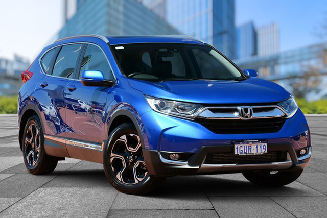 Demo Honda CR-V RW MY18 VTi-L FWD, 2018 Honda CR-V RW MY18 VTi-L FWD Brilliant Sporty Blue 1 Speed Constant Variable Wagon