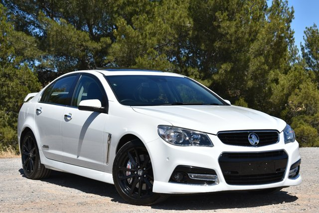 Used Holden Commodore VF MY14 SS V Redline, 2013 Holden Commodore VF MY14 SS V Redline White 6 Speed Sports Automatic Sedan