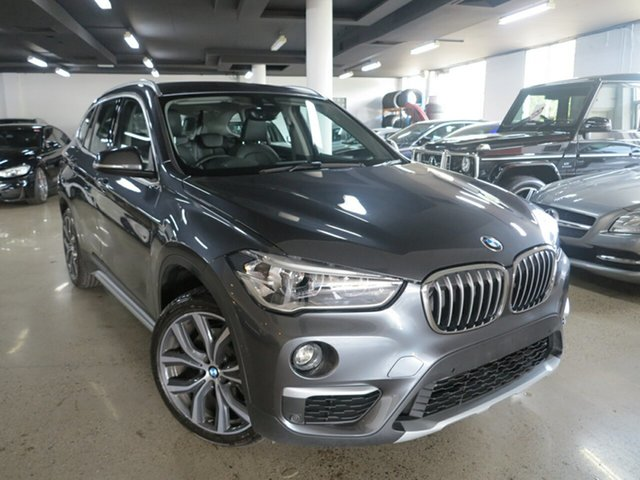 Used BMW X1 F48 xDrive25i Steptronic AWD, 2018 BMW X1 F48 xDrive25i Steptronic AWD Mineral Grey 8 Speed Sports Automatic Wagon