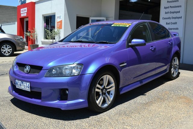 Used Holden Commodore VE MY08 SV6, 2007 Holden Commodore VE MY08 SV6 Blue 5 Speed Automatic Sedan