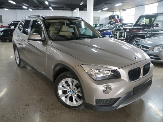 Used BMW X1 E84 LCI MY1113 sDrive20i Steptronic, 2014 BMW X1 E84 LCI MY1113 sDrive20i Steptronic Platinum Silver 8 Speed Sports Automatic Wagon